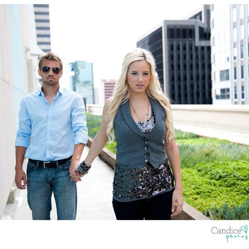Perris and Nicole { Downtown Los Angeles Engagement Session #1 }