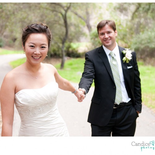 Ann + Kevin { La Canada Descanso Gardens Wedding } Part 1