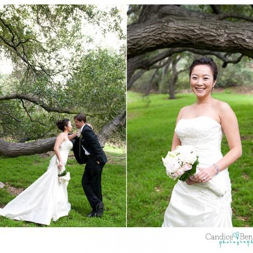 Ann + Kevin { La Canada Descanso Gardens Wedding } Part 2