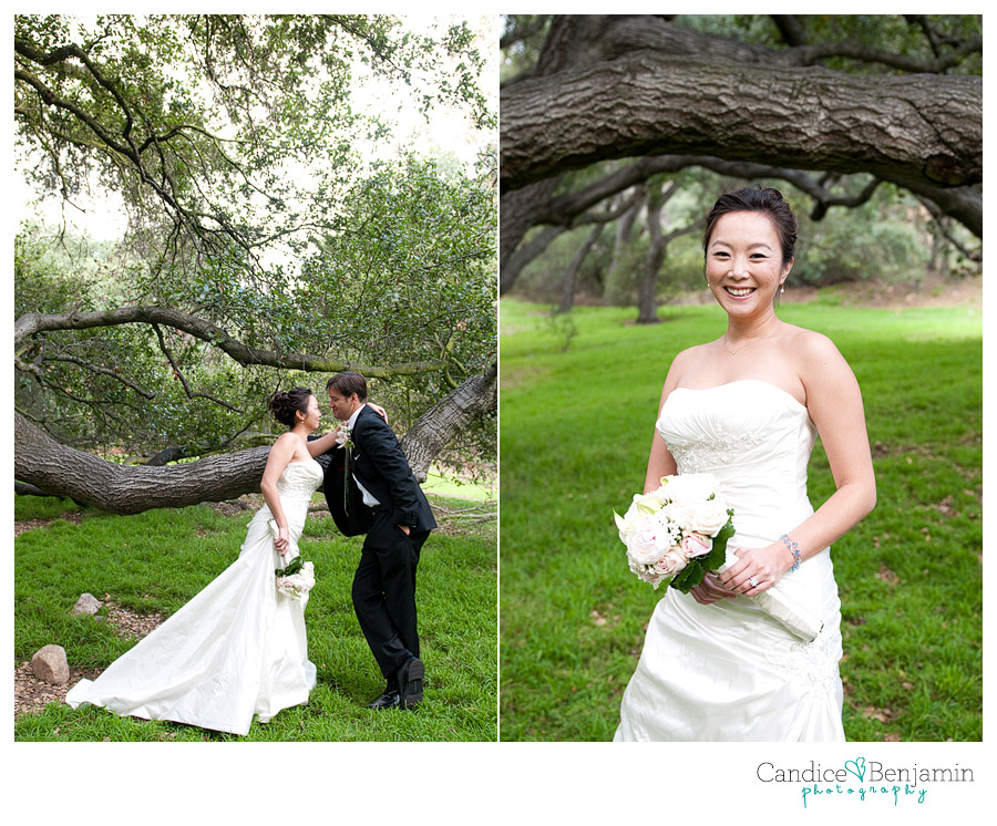 Ann + Kevin { La Canada Descanso Gardens Wedding } Part 2 | Candice ...