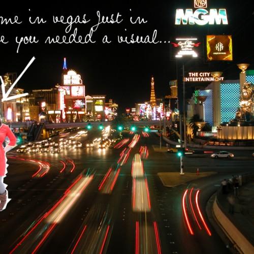 Vegas here I come!