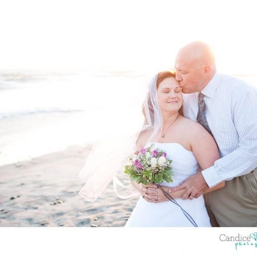 Denise + Randy { Oceanside Wyndham Pier Wedding }