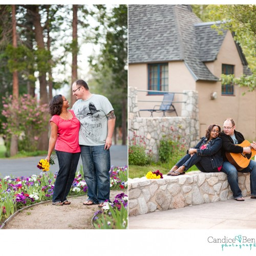 Seana + Robert { Lake Arrowhead Engagement Session }