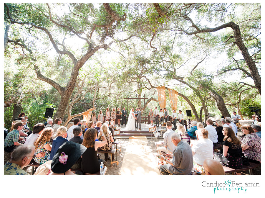 Kasey Josh Oak Canyon Nature Center Wedding Candice Benjamin