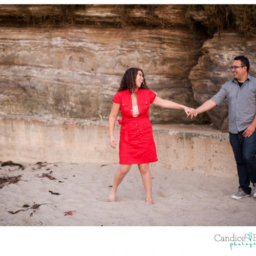 Amanda + David { San Diego Engagement Session }