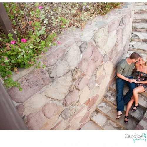 Brittney + Spencer { Malibu Adamson House Engagement Session }