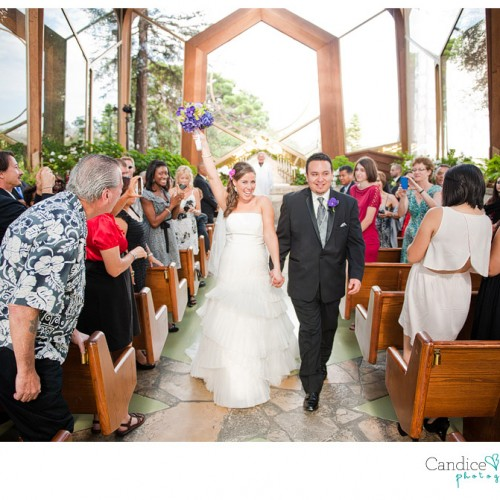 Amanda + David { Wayfarers Chapel Palos Verdes Wedding }