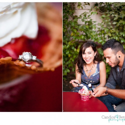 Cecilia + Tony { Disneyland Engagement Session }