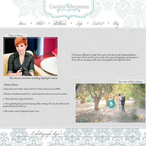 New Website { Start pouring the bubbly! }