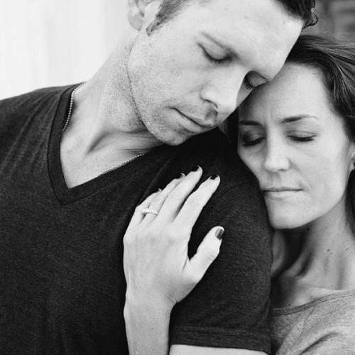 Kristin + Aaron { Ampersand Studios - Cemetery Engagement Session }