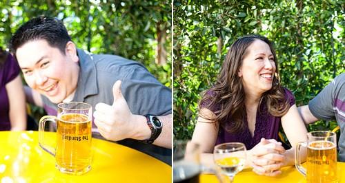 Catherine + Alex { Downtown LA Engagement Session }