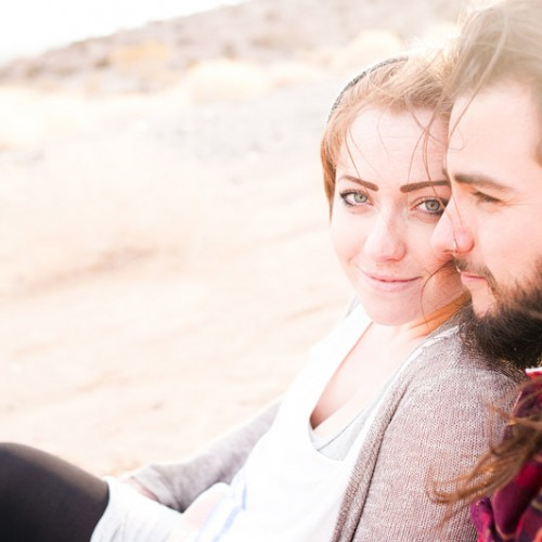 Jessica + Josh { Barstow Engagement Session }
