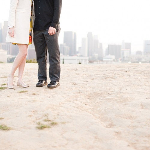 Rachel + Andrew { Los Angeles Engagement Session }