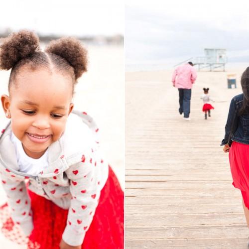 Golden Family { Santa Monica Pier