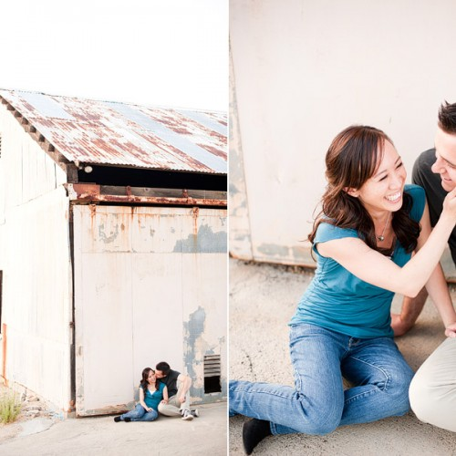 Michelle + Andrew { Temecula National Forest Engagement Session }