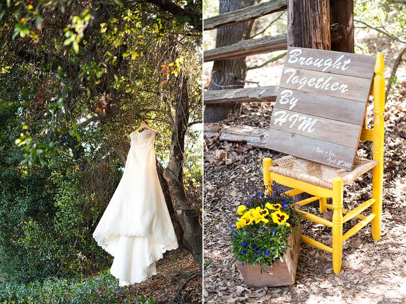 Liz Ryan Oak Canyon Nature Center Wedding Candice Benjamin