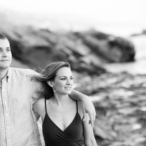 Courtney + Conor { Laguna Beach Engagement Session }