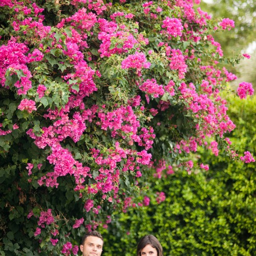 Liz + Josh { Palm Springs Parker Hotel Engagement Session }