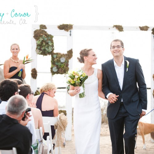 Courtney + Conor { San Clemente Historic Cottage Wedding }