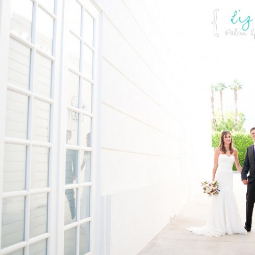 Liz + Josh { Palm Springs Parker Hotel Destination Wedding }
