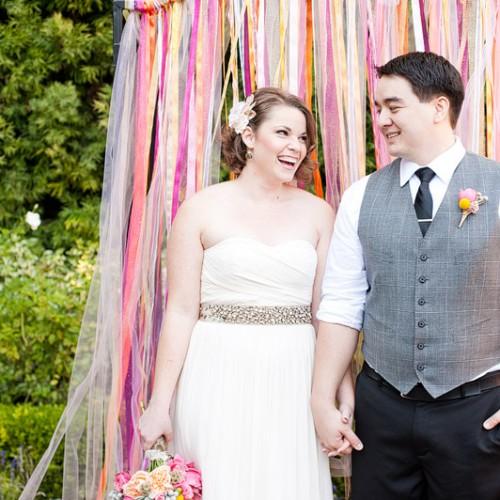 Kaysha + John { San Juan Capistrano Franciscan Gardens Wedding }
