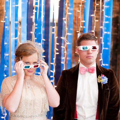 Through All of Space + Time { Doctor Who Inspired Wedding Day Styled Shoot }