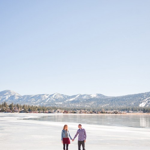 Lisa + Shawn { Big Bear Lake Engagement Session }