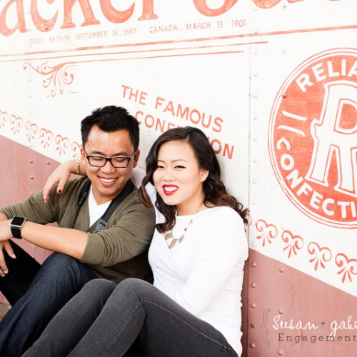 Susan + Gabe { San Juan Capistrano Mission Engagement Session }