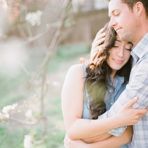 Liz + Derrick { Julian, CA Engagement Session - Film }