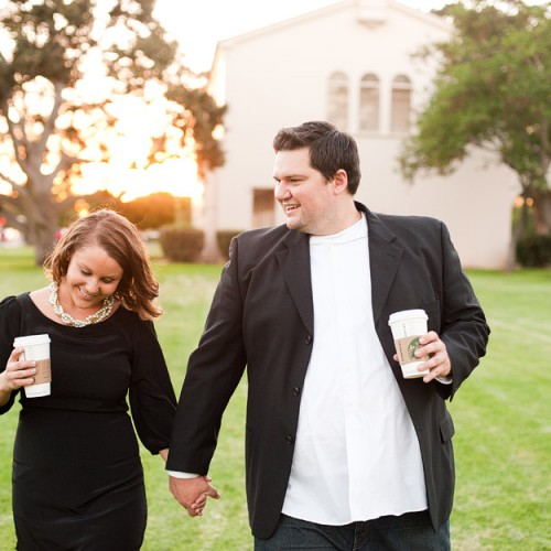 Sara + Brendan { Downtown Fullerton Engagement Session }