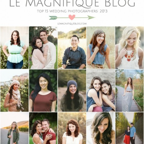 Award {Le Magnifique - Top 15 Wedding Photographers of 2013}