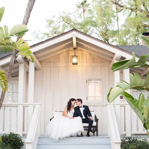 Chelsea + Brian { Santa Barbara El Encanto Resort Wedding }