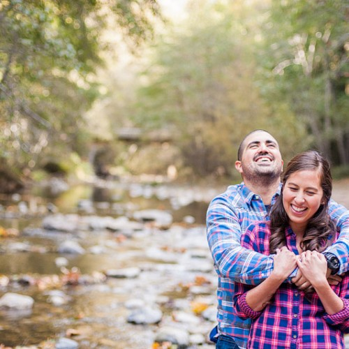 Ashley + Omead { Big Sur California Engagement Session }