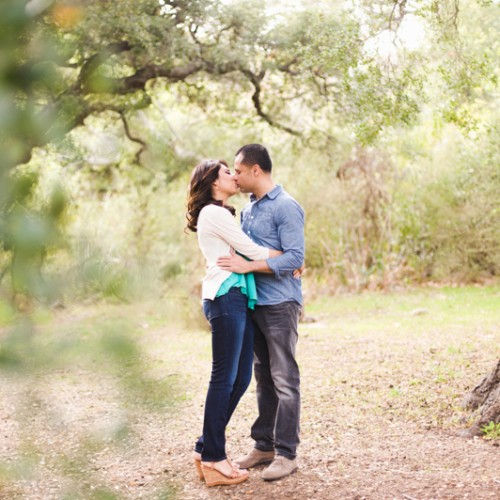 Amber + Ozzie { Malibu Hills Engagement Session }