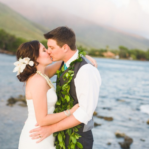 Tamara + Chris { Olowalu Plantation House Destination Wedding Maui, Hawaii }