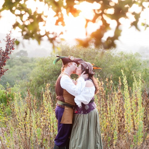 Dawn + John { Santa Barbara Elings Park Pirate Themed Wedding }