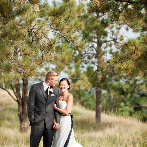 Aimee + Eric { Sedalia, Colorado Sanctuary Golf Course Destination Wedding }
