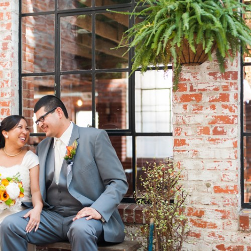 Lily + Jorge { The Carondelet House in Downtown LA Wedding }
