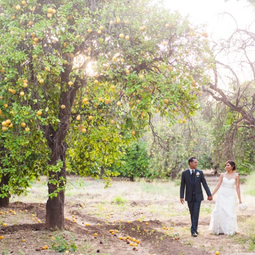 Amber + Ozzie { Los Angeles Orcutt Ranch Wedding }