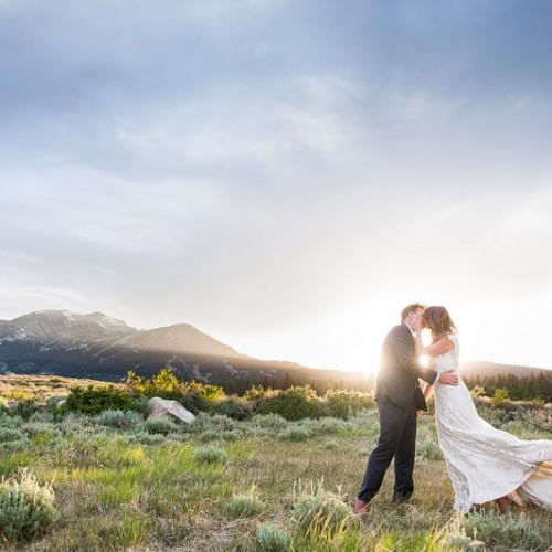 Erin + Brent { Mammoth Lakes California Sierra Meadows Ranch Wedding }