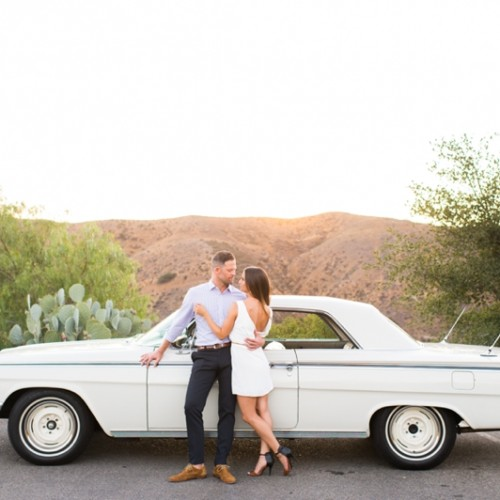 Elaina + Chris { Hummingbird Nest Ranch Engagement Session - Santa Susana - CA }