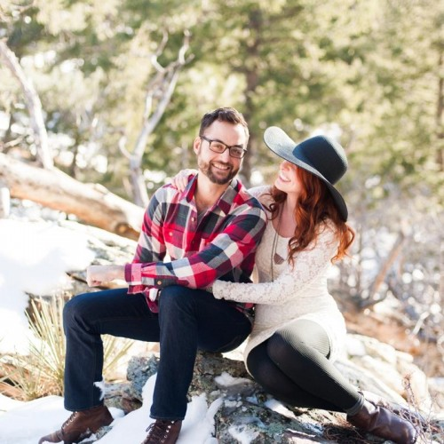 Jess + Eric - Couple Session - Mount Falcon, Colorado