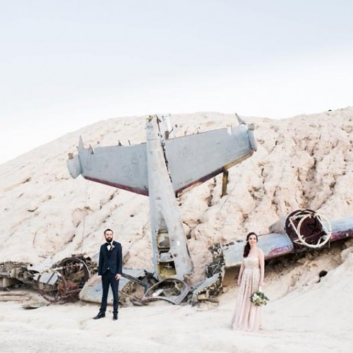Rebecca + James - Nelson Ghost Town Elopement - Nelson, Nevada
