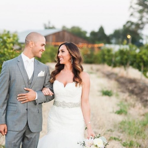Marissa + Andrew - Dana Powers House and Barn Wedding - Nipomo, California