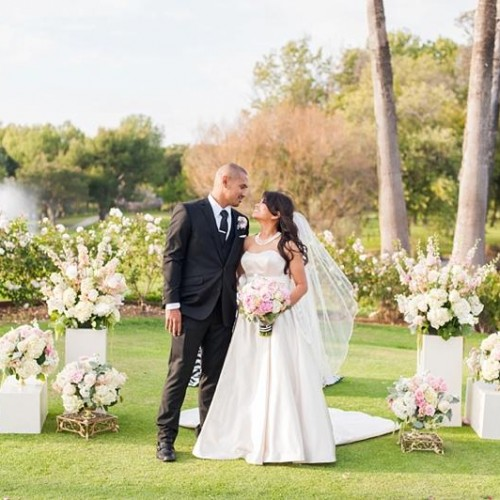 Rina + Juan - Los Coyotes Country Club Wedding - Buena Park, California