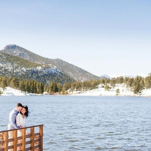 Jennifer + Andrew - Estes Park Colorado Engagement Session