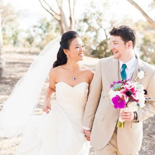 Val + Kellen - Birch Aquarium Wedding - San Diego, California