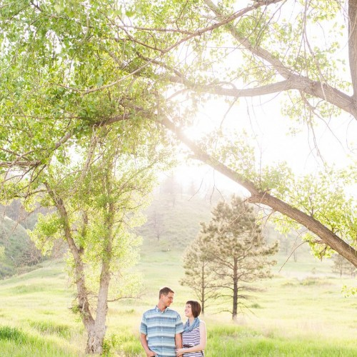 Ashleigh + Shannon - Horsetooth Reservoir Engagement Session - Fort Collins, Colorado
