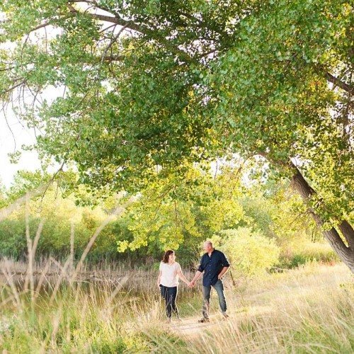 Christy + Wes - Cache La Poudre River Anytime Session - Greeley, Colorado