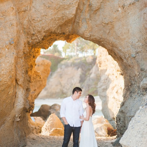 Audrey + Andrew - Laguna Beach Engagement Session - Laguna Beach, California
